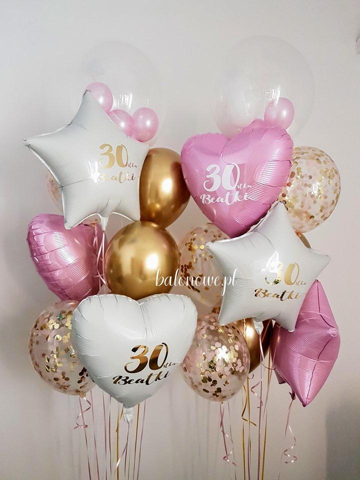 Napisy na balonach